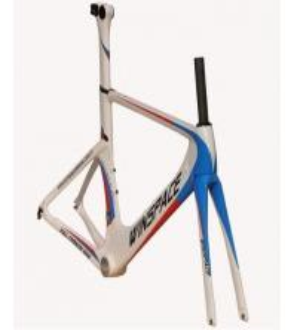 Quality Single Speed Aero Track Bike Frame Carbon Fiber 700C Customized Aero Multi Color for sale
