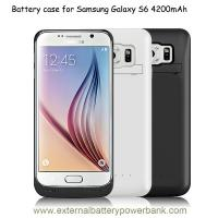 Quality Samsung Galaxy S6 External Battery Case Handle Bracing Protect for sale