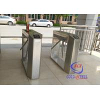 Quality Full automatic rotating gate tripodHalf Height Turnstiles in universal remote control for sale
