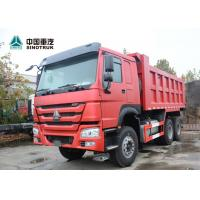 Quality 6x4 Tipper Truck / Howo 6x4 Dump Truck ABS Service Brake 336hp Power for sale