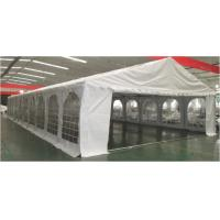 Quality 8 × 20m Rustproof Outdoor Party Tents Wind Resistant With Plastic Windows for sale