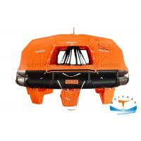 Quality Davit - Launched Marine Life Raft 16 Man Capacity For Sea Sailing Vessel for sale