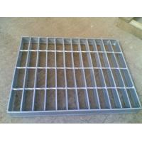 China Surface Untreated Mild Steel Grating 3 Available For Flooring, Sidewalk on sale