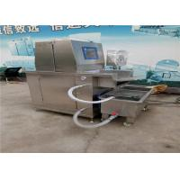 Quality Adjustable Speed Meat Brine Injector Machine , 380v Industrial Meat Injector for sale