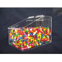 Quality Clear Custom Acrylic Display Case For Jelly Beans Candy 3MM 6MM for sale