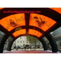 Quality inflatable air constant pvc outdoor paintball sport tent for sale