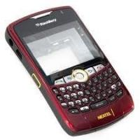Quality Replace BlackBerry Cell Phone Full Housing Kit of Original for Curve 8350i in Red, Black for sale
