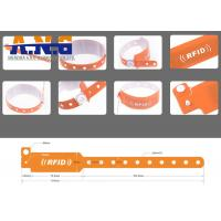 Buy Conferences healthcare industry UHF RFID TAGS Wristband Disposable at wholesale prices