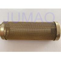 Quality 20mm Diameter Single Layered Sintered Filter Element , Sintered Brass Filter Tube for sale