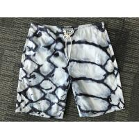 Quality HOT Men's short white blue anomaly printed board Shorts New style for sale