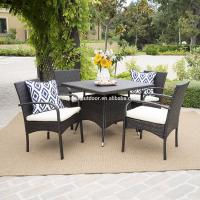 Buy Wholesale Rattan Wicker Furniture 5 Piece Outdoor Patio Dining Set at wholesale prices