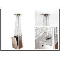 Buy Pyramid Outdoor Standing Propane Heater , Patio Floor Heater CE Certification at wholesale prices