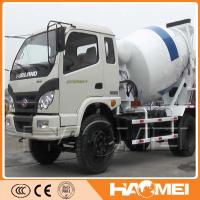 Quality self loading concrete mixer with pump for sale