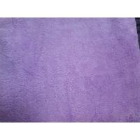Quality Purple coral fleece absorption bath towel  80*140 microfiber cleaning towels for sale
