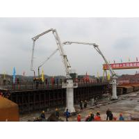 Buy 7m Stationary Height Hydraulic Stationary Placing Boom HG24 Electrical Integration Control at wholesale prices