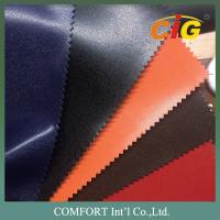 China Shiny / Dull Surface Plain PVC Artificial Leather For Bags / Shoes / Furnitures on sale