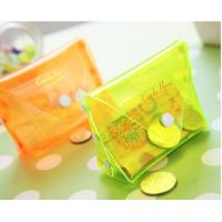 China Transparent Waterproof 	EVA Cosmetic Bag Candy Colour For Pocket Coin on sale
