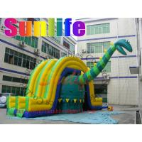 Quality hot sell inflatable Dinosaur jumper slide combo for sale