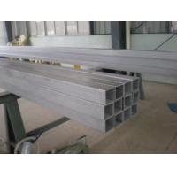 Quality ASTM A554 Welded Stainless Steel Tube , Mechanical Stainless Steel Square Tubing for sale