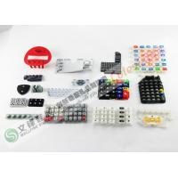 Quality OEM 5 Standard Color Silicone Rubber Keypad Suitable For Remote Control for sale