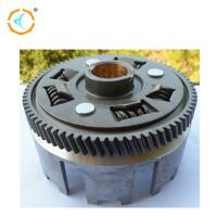 Buy cheap Reliable Motorcycle Clutch Housing Cover ADC12 Material Silver Color For LF175 from wholesalers
