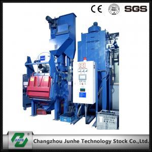 China Automatic Shot Blasting Machine / Industrial Shot Blasting Equipment High Efficiency on sale