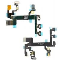 China Original iphone 5s Power Button Replacement Switch Mute Volume Button Switch Connector Shock Flex Ribbon Cable For iPho on sale