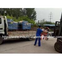 Quality Industrial Waste Plastic Film Shredder Alloy Steel Blade For Jeans Scrap for sale