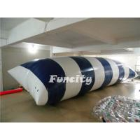 China 0.9MM PVC Tarpaulin Inflatable Lake Toys , Water Proof Inflatable Water Blob on sale