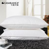 Natural comfort down pillow inserts home hotel sleep for Comfort inn hotel pillows