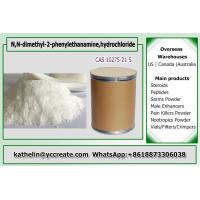 Buy cheap Nootropic bulk powder N,N-dimethyl-2-phenylethanamine,hydrochloride 10275-21-5 from wholesalers
