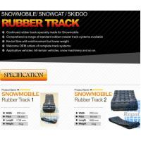 Quality Snowmobile Rubber Track for sale