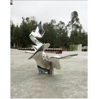 China Customized Metal Statue Modern Abstract Sculpture Outdoor For Decoration for sale