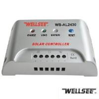Quality Wellsee WS-Al2430 30A 12/24V Solar Controller for sale