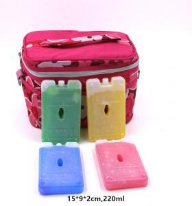 OEM 220ml Bpa Free Hard Plastic Gel Cool Packs Fit & Fresh Ice Packs