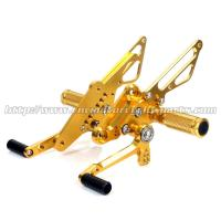 Quality CNC Milling Aluminum Motorcycle Rear Sets Moyorcycle Footrests For Street Bike for sale