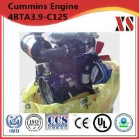 Quality Cummins engine 4BTA3.9-C125 for fire fighting pump with high quality for sale
