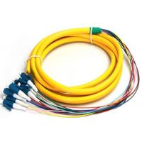 Buy cheap 0.5M FC - LC 12 Cores Armored Fiber Optic Pigtail Connector , Lc Pigtail Single from wholesalers