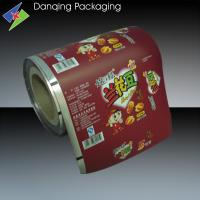 Quality High Puncture Resistance Plastic Doypack Printed Packaging Film For Nut for sale
