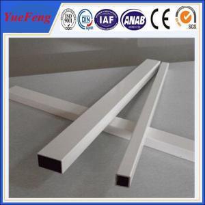Quality China powder coated aluminum tube price,oval aluminum tube fence manufacturer for sale