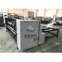 China Corrugated Carton Box Semi Auto RS4 Rotary Slotter Machine With Chain Feeding on sale