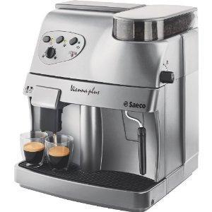 Quality Saeco 4045 Vienna Plus 15-Bar-Pump Super-Automatic Espresso Machine, Silver for sale