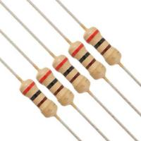 China Axial Through Hole Carbon Film Resistor Coated With Flame Retardant on sale
