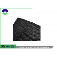 Quality 205gsm Split Film Woven Geotextile Fabric Easy Installation Slop Protection for sale