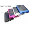 Buy cheap Portable Charger Mini Slim Solar Panel Power Bank 4000mAh 6000mAh from wholesalers