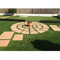 China Safe Residential Artificial Grass Non Infill PU Coating Environmentally Friendly on sale
