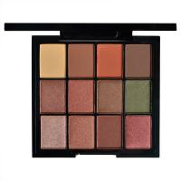 Buy cheap Lonnglasting Cosmetics Matte And Shimmer Eyeshadow Palette 12 Colors Waterproof from wholesalers