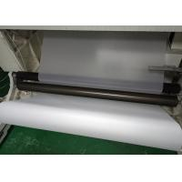 Quality White Translucent Matte PET Film Surface Uniformity / Low Sub Degree For Printing for sale