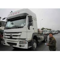 Quality 10 Wheeler Tractor Head / Heavy Duty Trailer Truck With 351 - 450hp Horsepower for sale