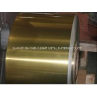 Quality Industrial Finstock Hydrophilic Aluminium Foil Width 150-1650mm Custom Size for sale